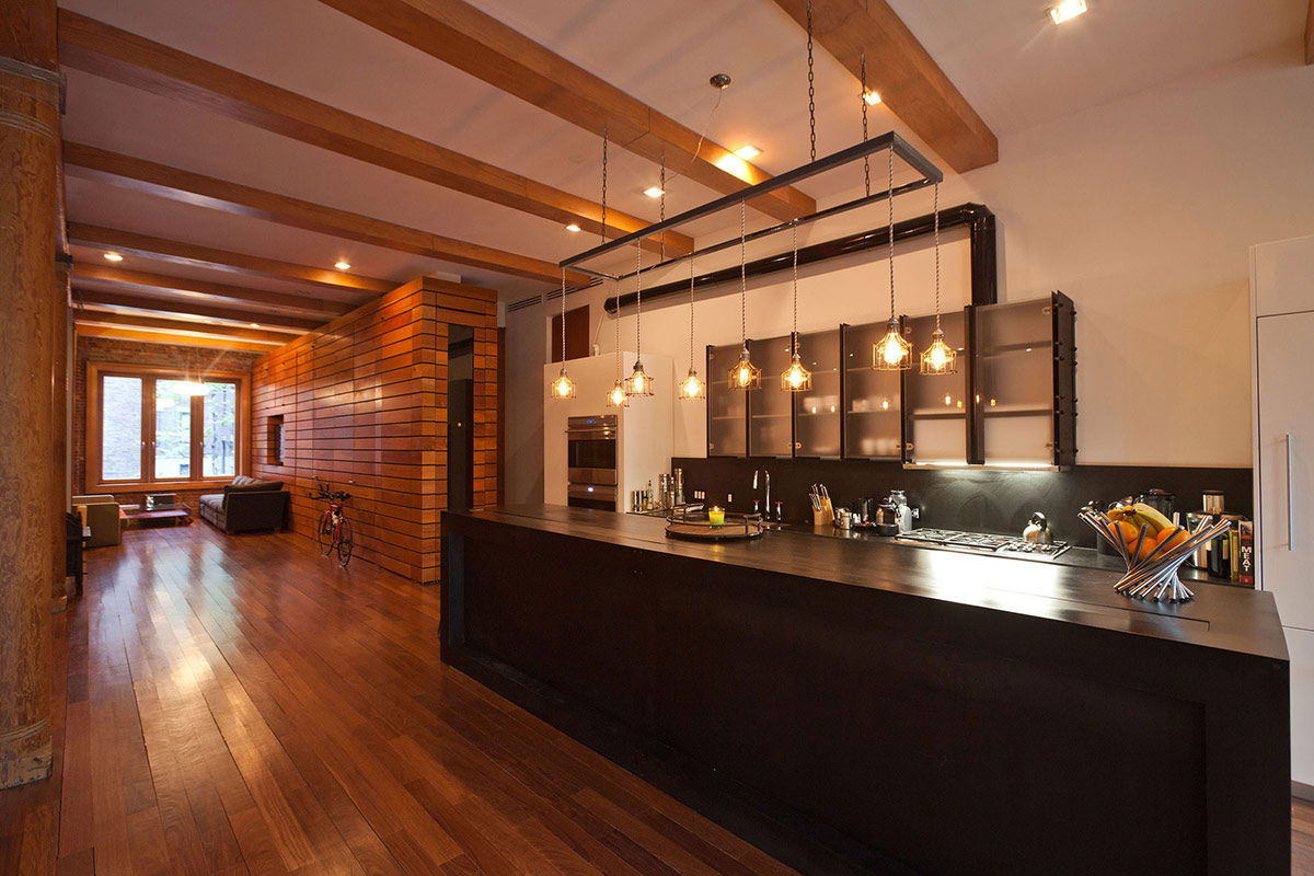 Kitchen lighting loft in noho new york city for Loft apartments in nyc