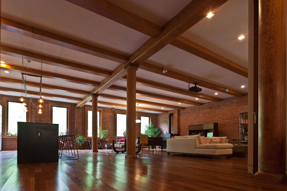 loft in noho new york city by jendretzki. Black Bedroom Furniture Sets. Home Design Ideas