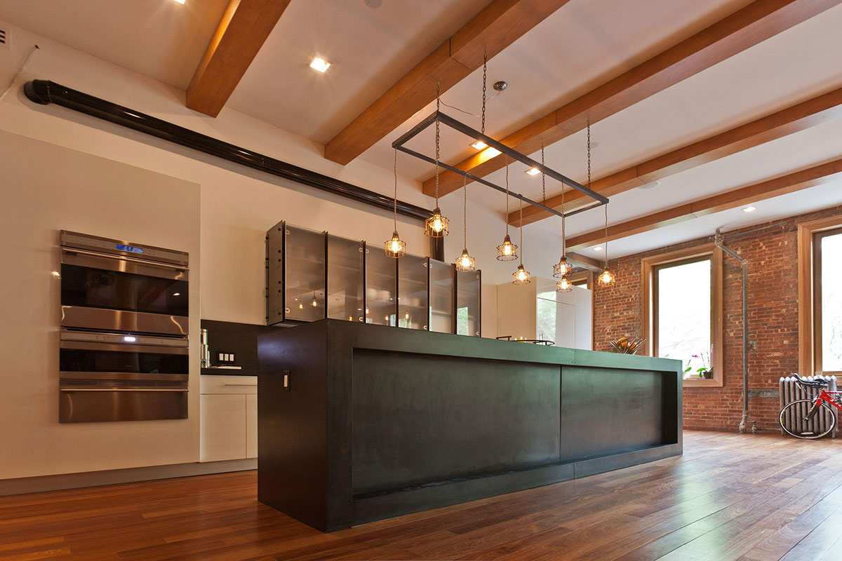 Wood Flooring, Kitchen, Loft in NOHO, New York City