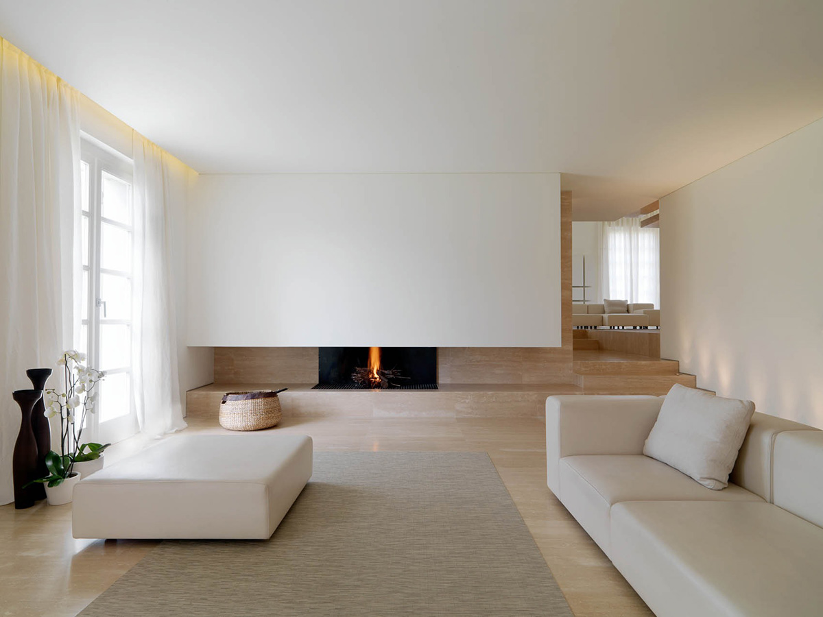 Minimalist Interior Renovation in Tuscany by Victor Vasilev