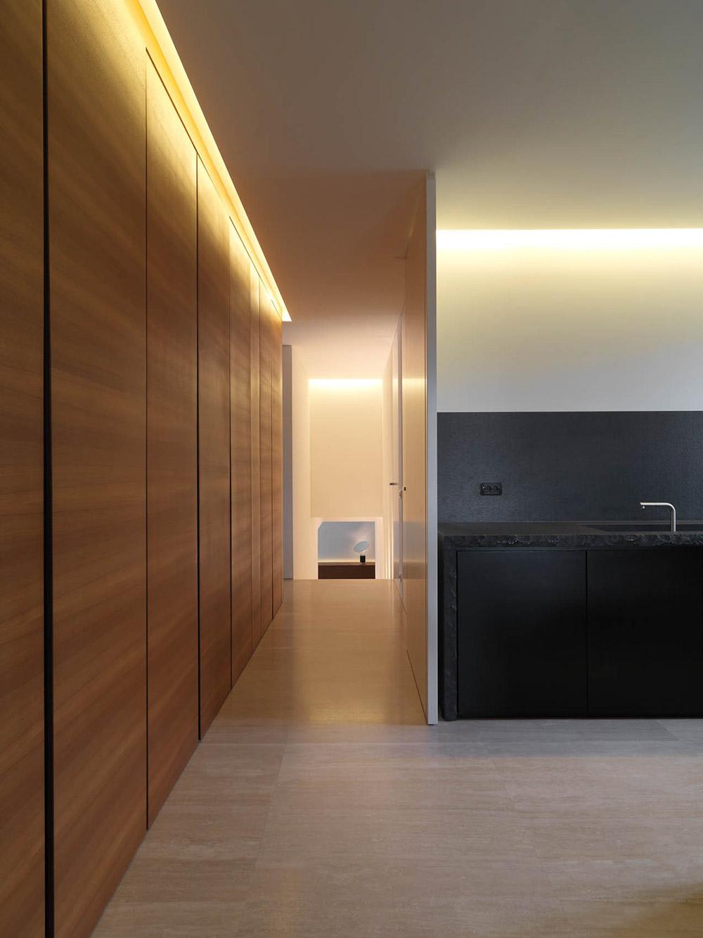 Hall, Minimalist Interior in Tuscany, Italy by Victor Vasilev