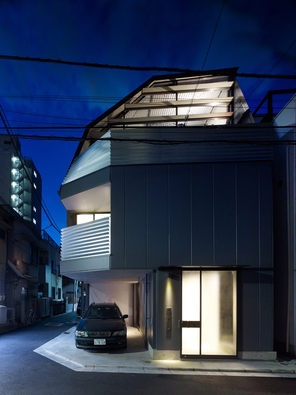Compact Modern Home in the Heart of Tokyo
