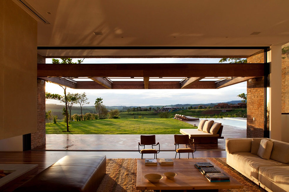 Living Room, Views, MP Quinta da Baronesa in São Paulo, Brazil