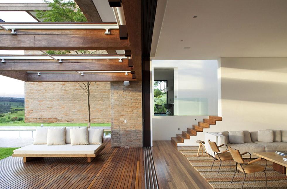 Terrace, Living Space, MP Quinta da Baronesa in São Paulo, Brazil
