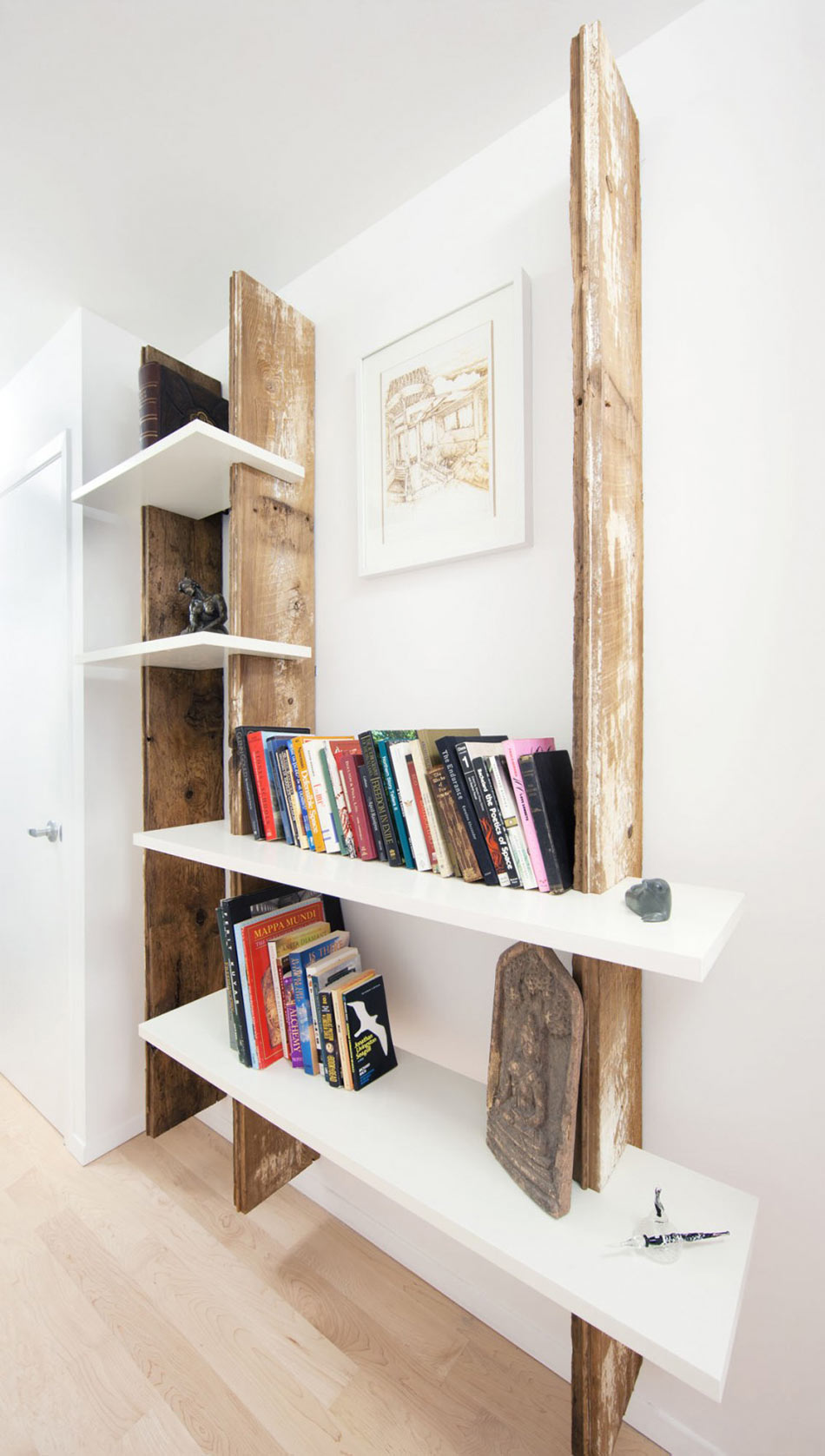 Bookshelf, Hintonburg Home in Ottawa, Canada