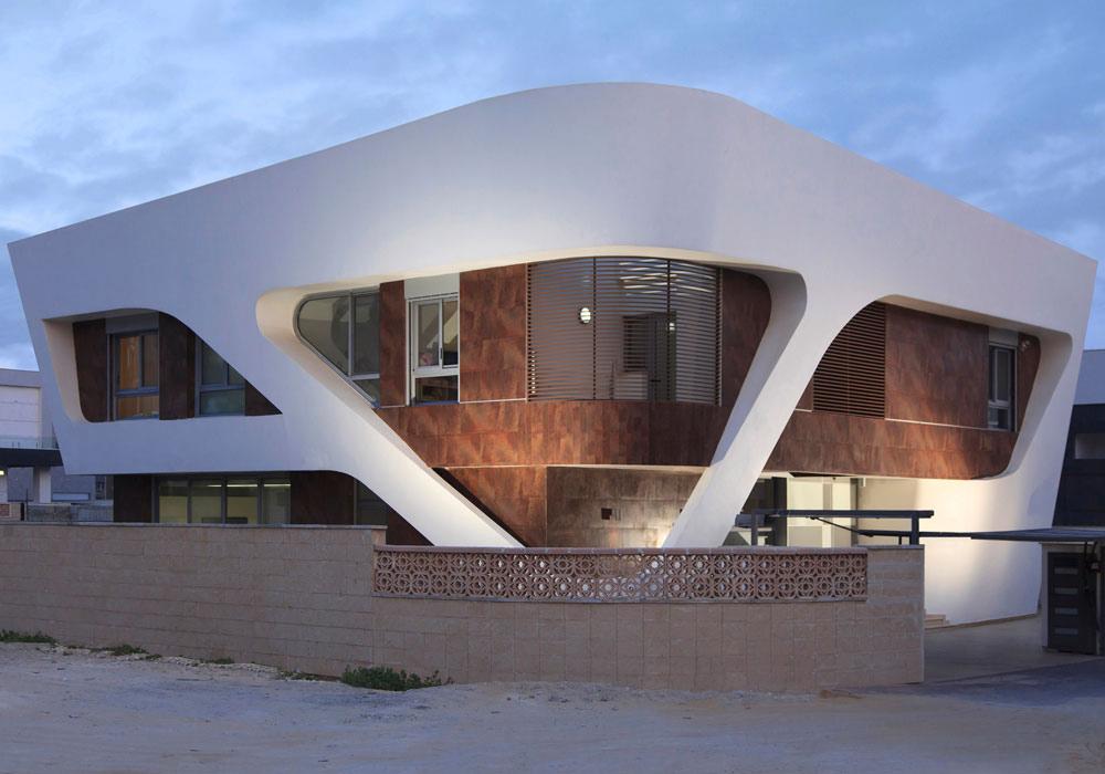 Intriguing Contemporary Villa in Ashdod, Israel