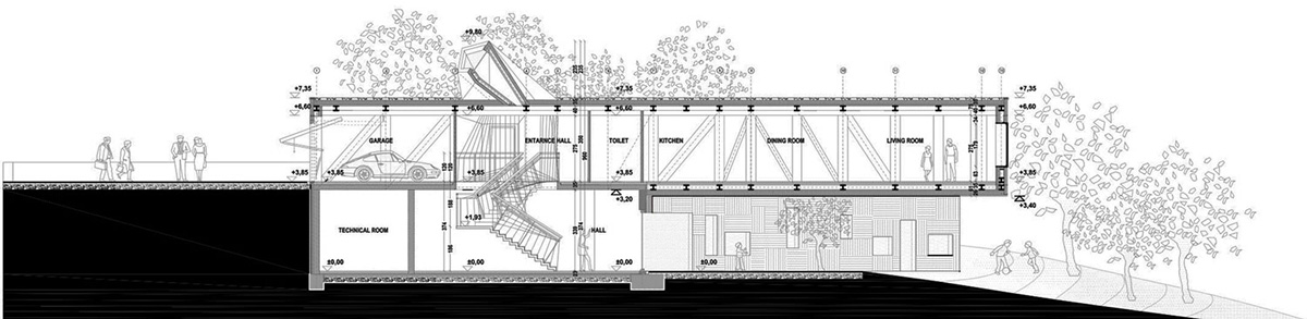 Section, Nest & Cave House in Opatija, Croatia