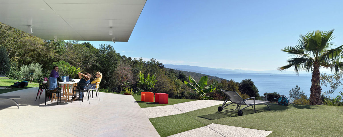 Terrace Nest amp Cave House In Opatija Croatia