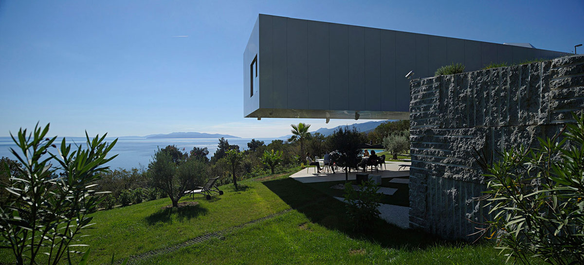 Garden, Views, Nest & Cave House in Opatija, Croatia