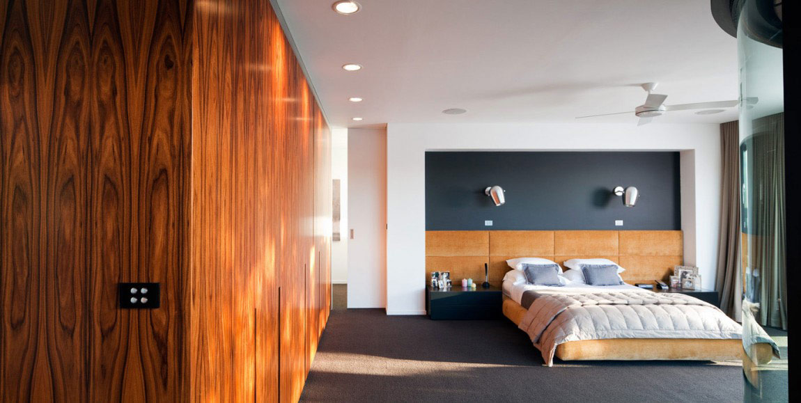 Bedroom, River House in Sydney, Australia