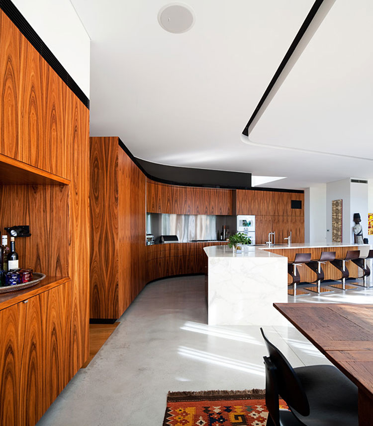 Dining, Kitchen, River House in Sydney, Australia