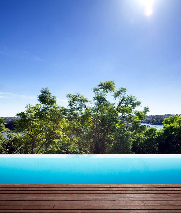 Infinity Pool, River House in Sydney, Australia