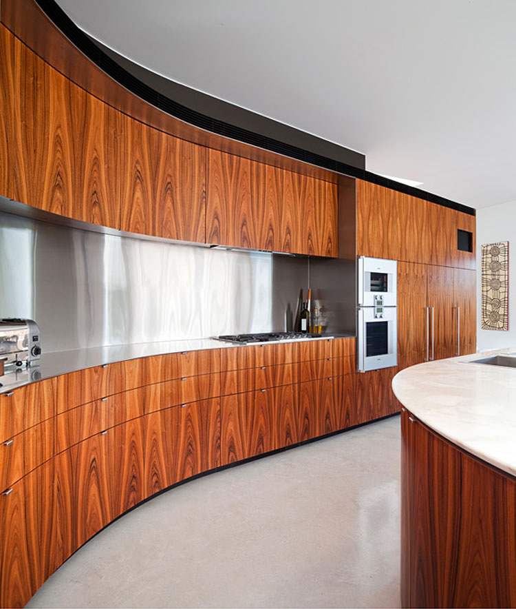 Kitchen, River House in Sydney, Australia