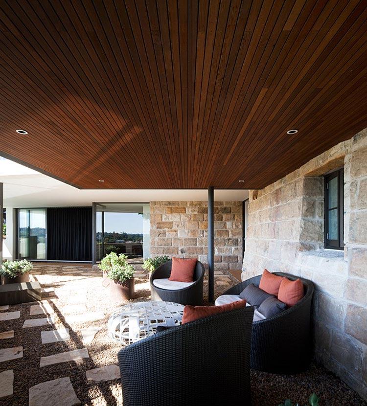 Outdoor Living, River House in Sydney, Australia
