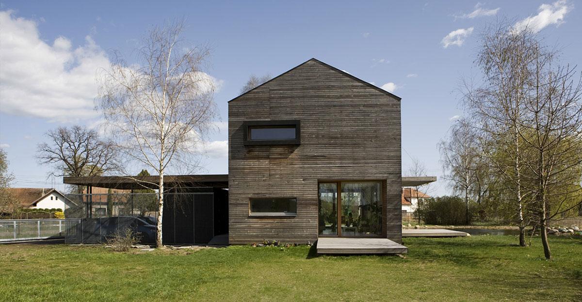 Patio Doors, Terrace, Charming Rustic Family home in the Czech Republic