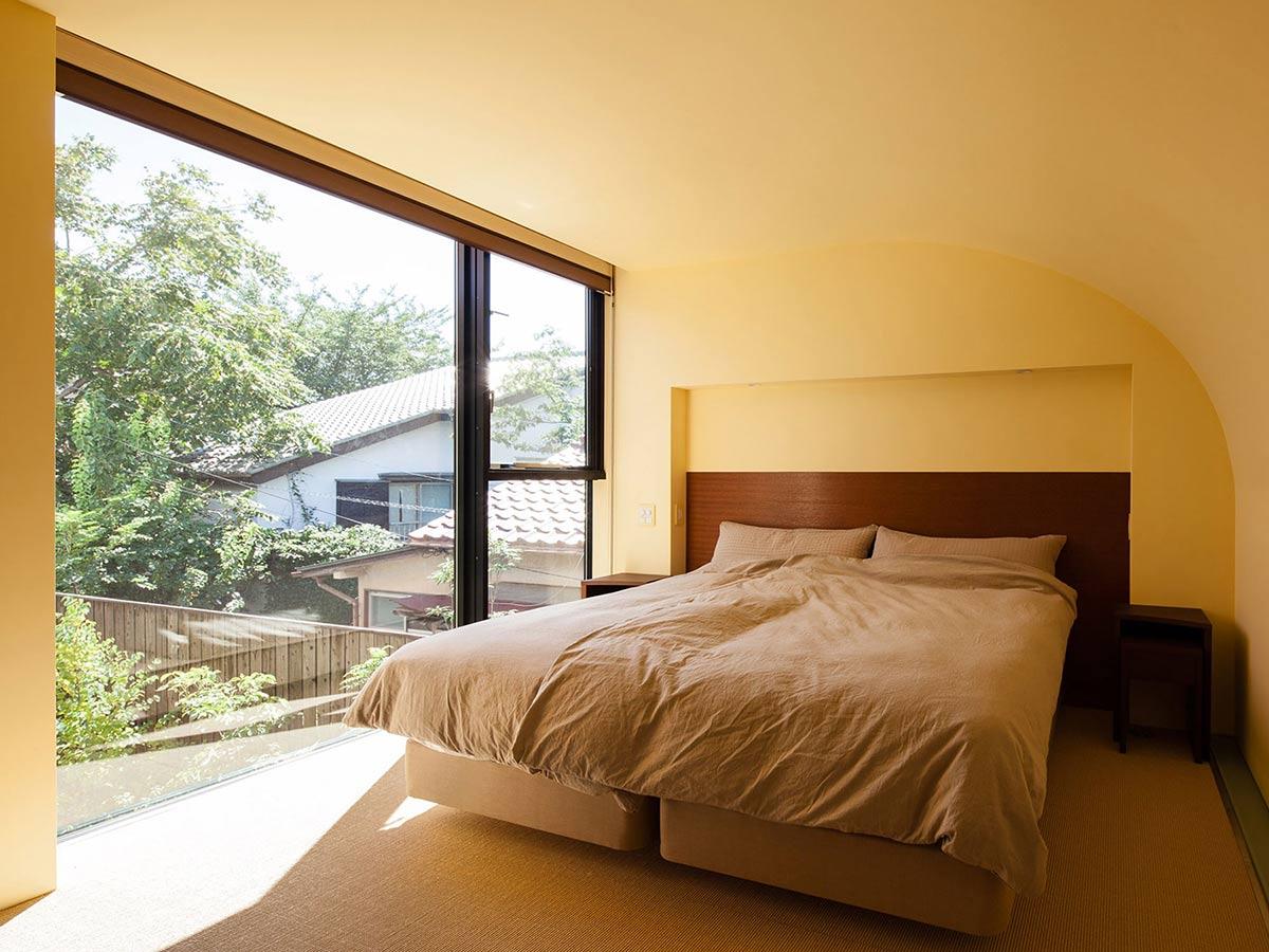 Bedroom, Bright Contemporary Home in Tokyo, Japan