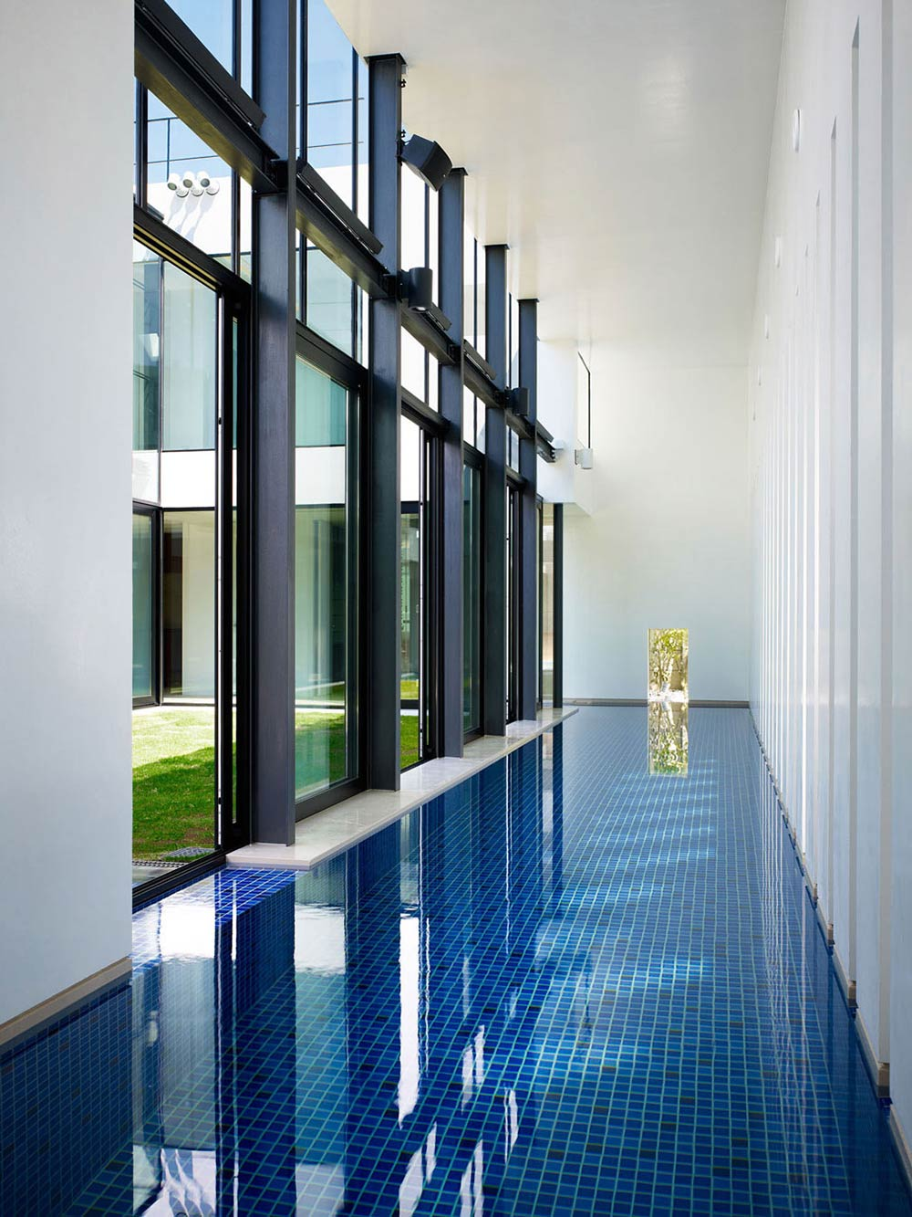 Indoor Swimming Pool, Bright Contemporary Home in Tokyo, Japan