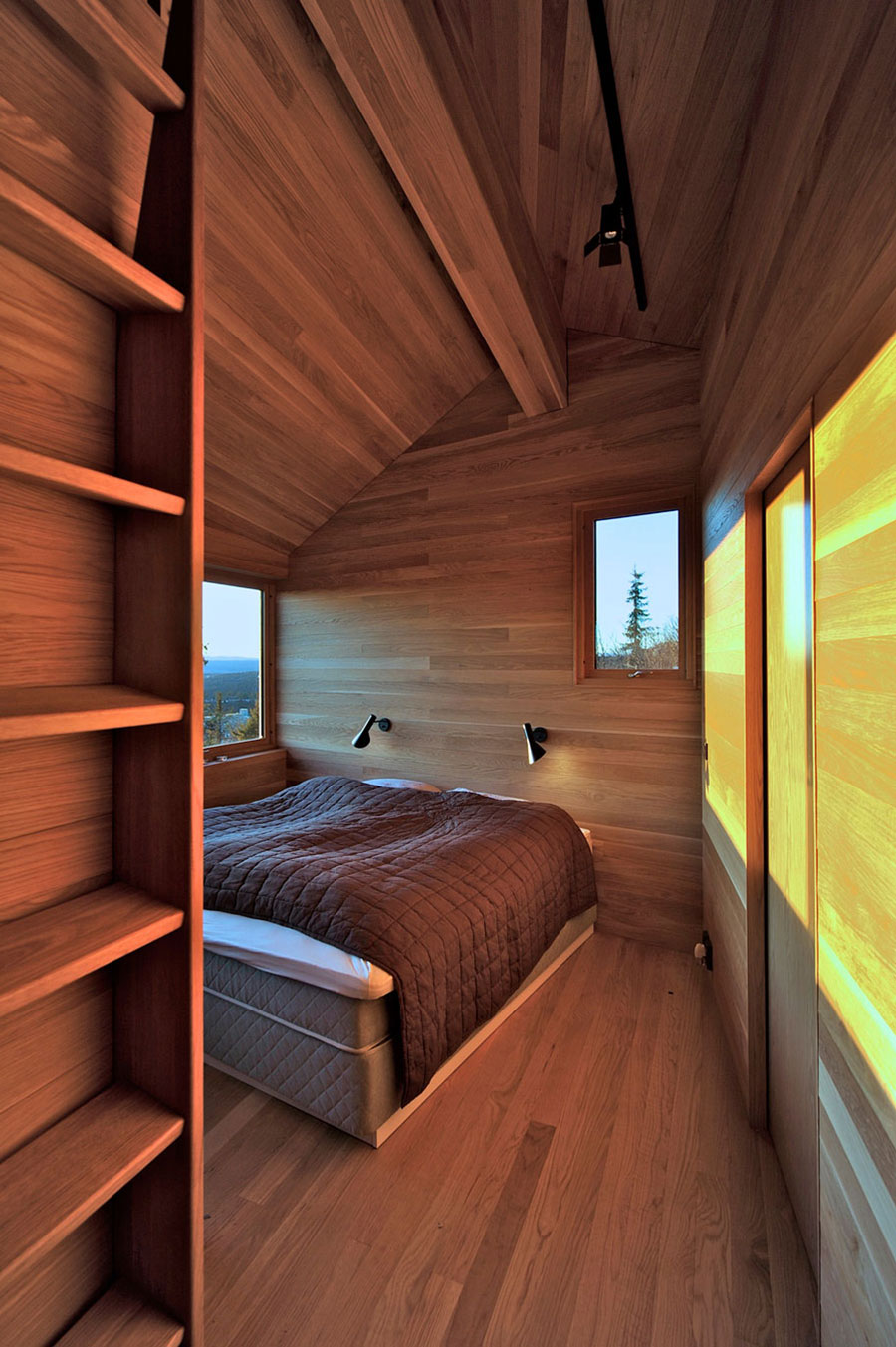 Bedroom, Ski Home in Kvitfjell, Norway: Twisted Cabin