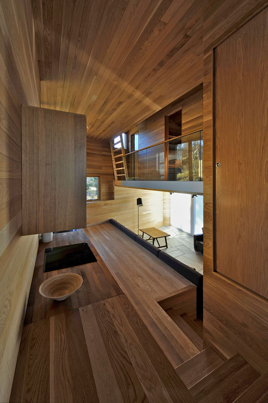 Open Plan Living, Ski Home in Kvitfjell, Norway: Twisted Cabin
