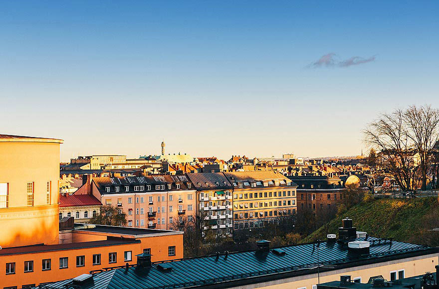 Rooftop Views, Stylish Modern Apartment Stockholm