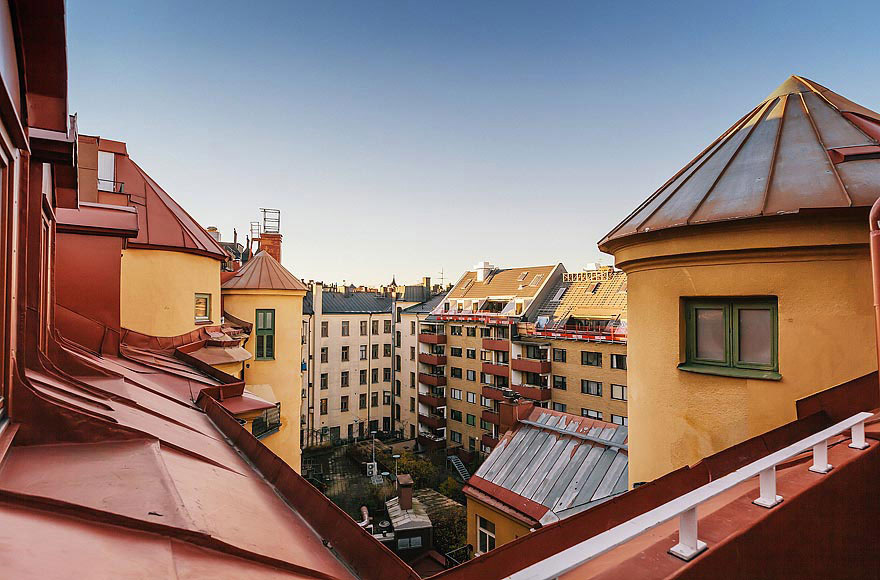 Views, Stylish Modern Apartment Stockholm