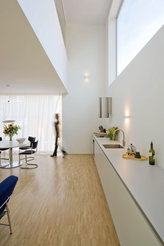 Compact Kitchen, Stripe House Leiden, The Netherlands