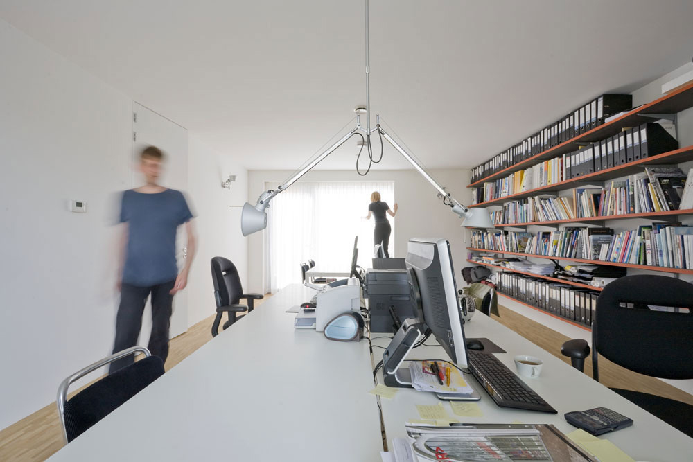 Home Office, Stripe House Leiden, The Netherlands