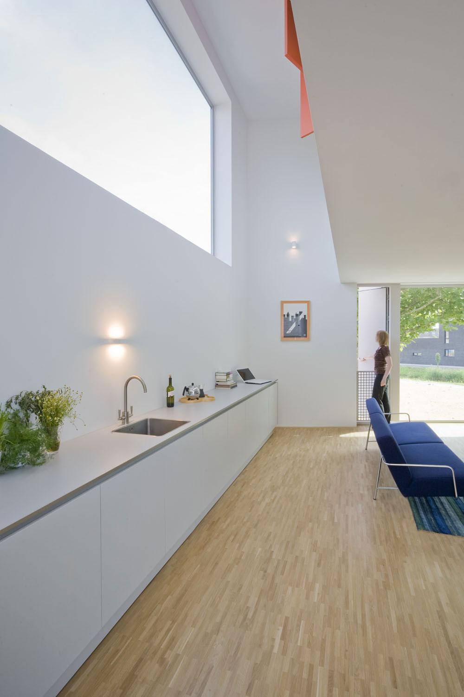 Kitchen, Stripe House Leiden, The Netherlands