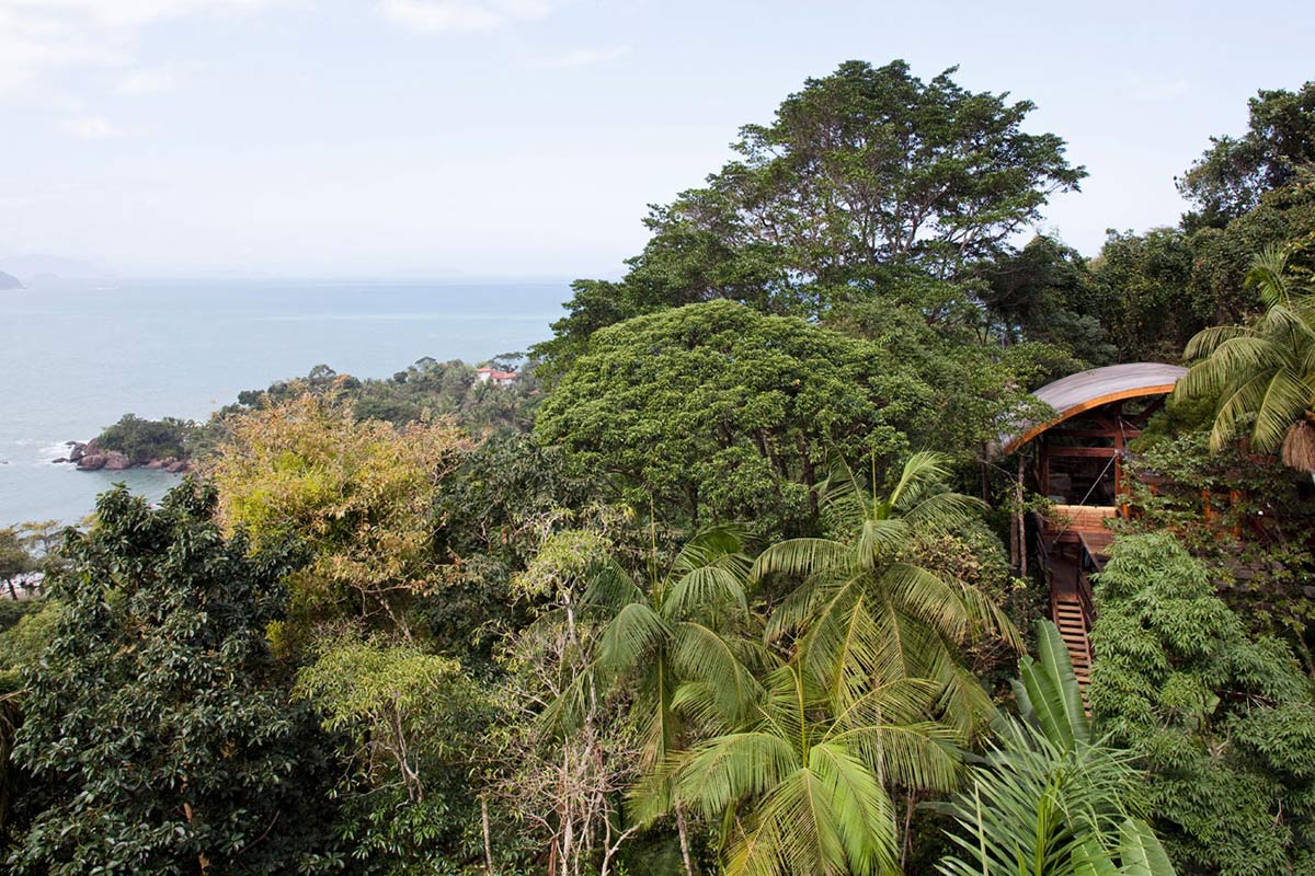 Forest & Ocean Views, Outstanding Sustainable Home in Praia do Felix, Brazil