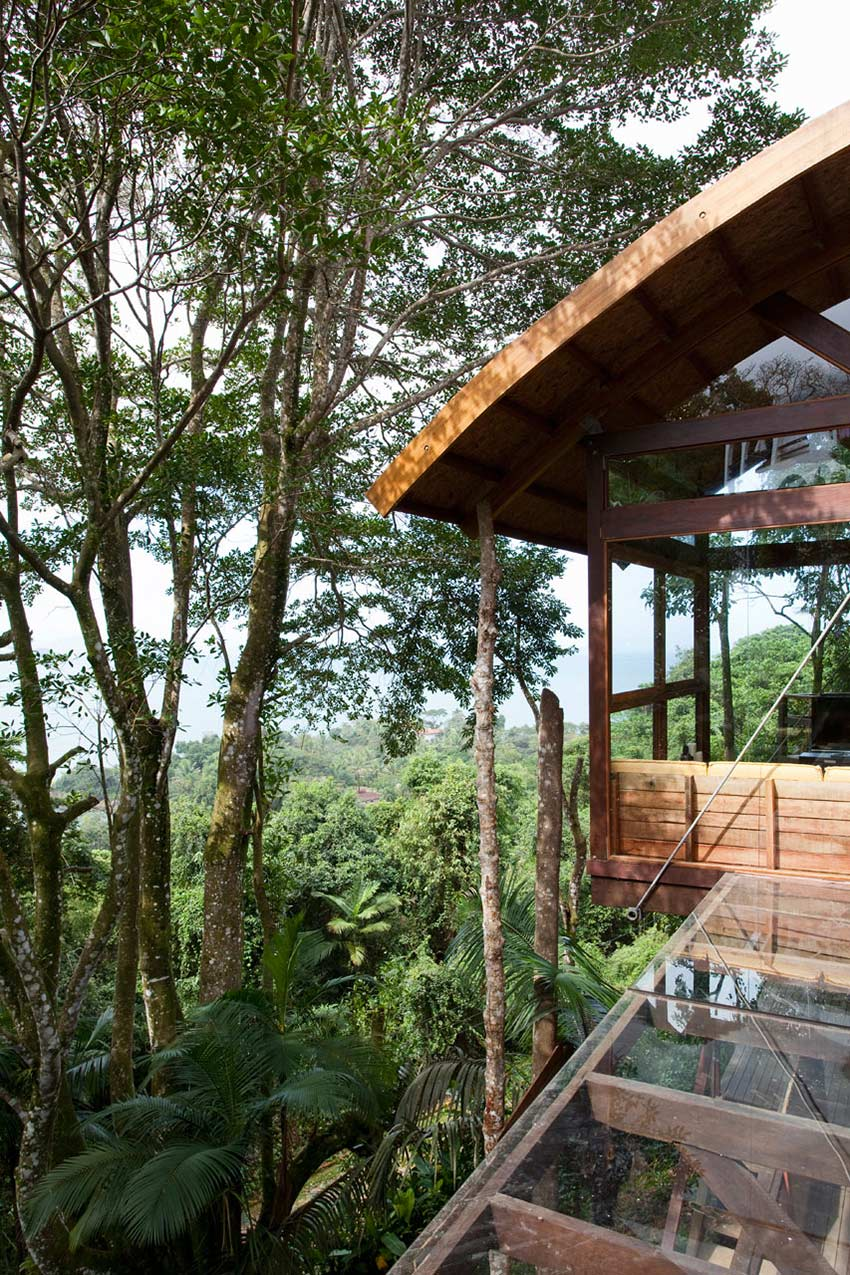 Forest Views, Outstanding Sustainable Home in Praia do Felix, Brazil