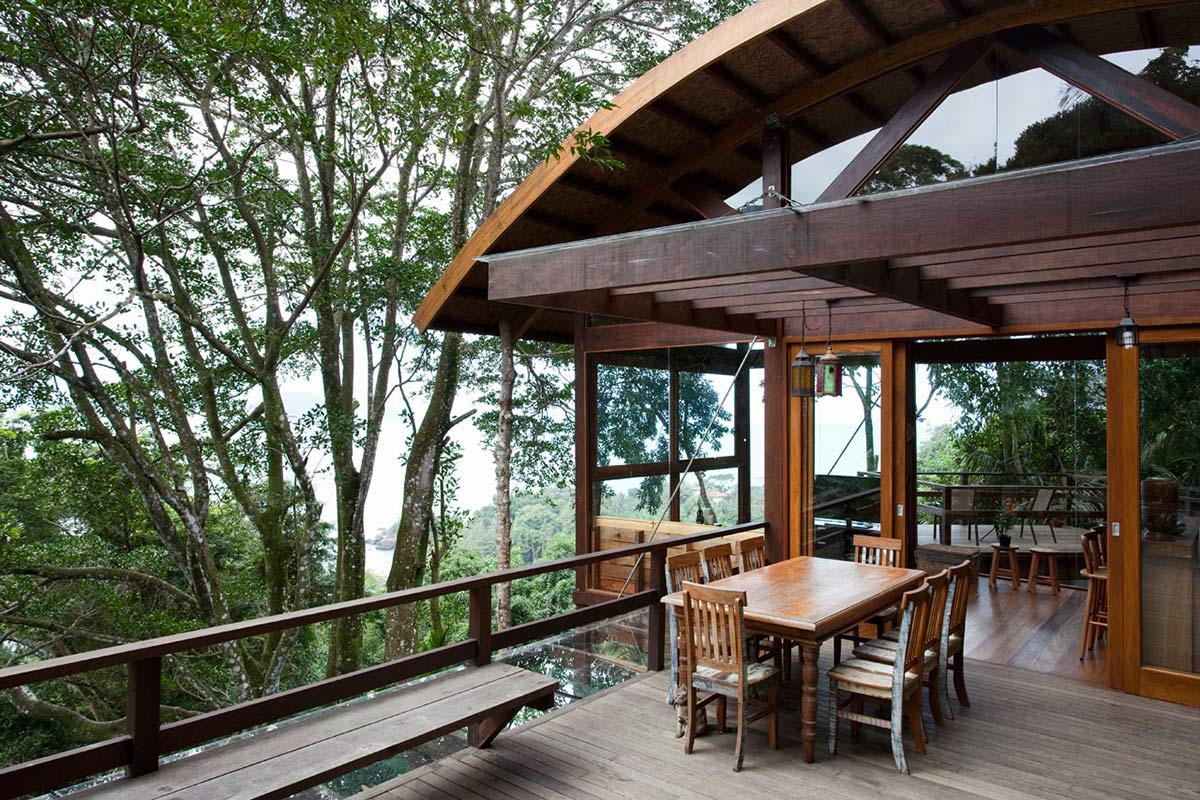 Terrace Views, Outstanding Sustainable Home in Praia do Felix, Brazil