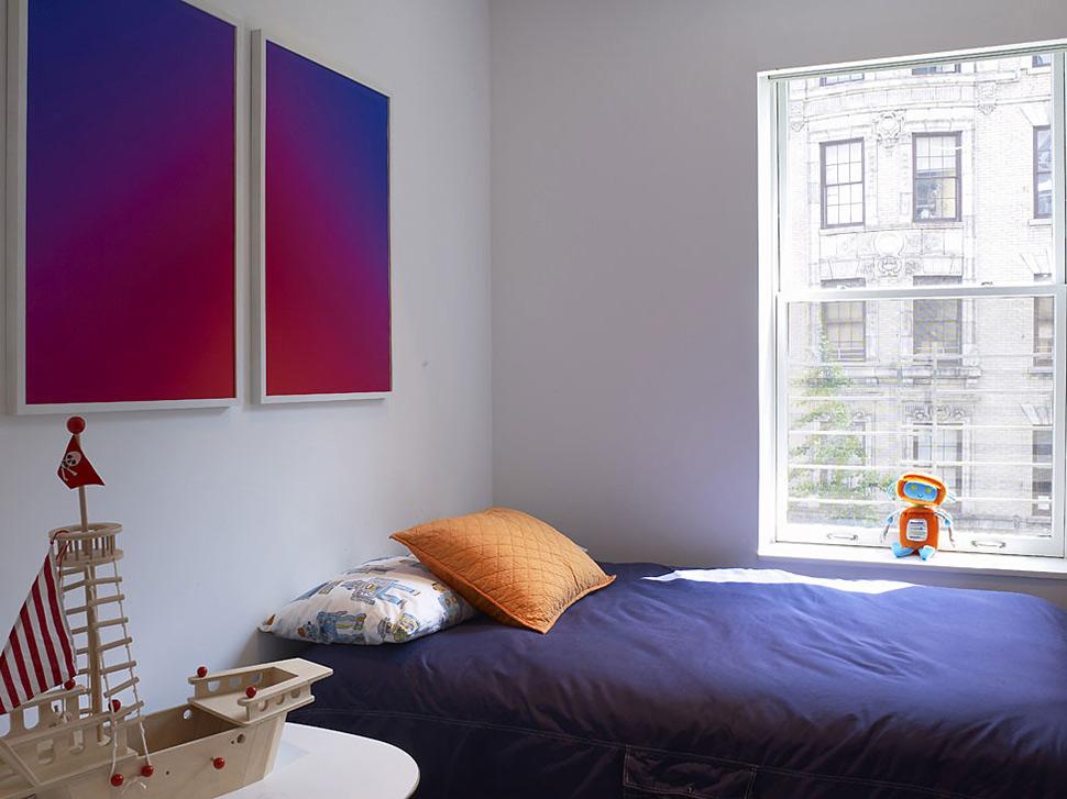 Kids Bedroom, Art, Townhouse Renovation in Gramercy Park, New York