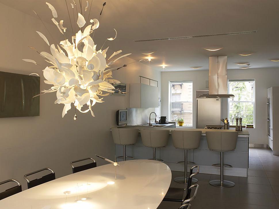 Kitchen, Dining, Open Plan, Townhouse Renovation in Gramercy Park, New York