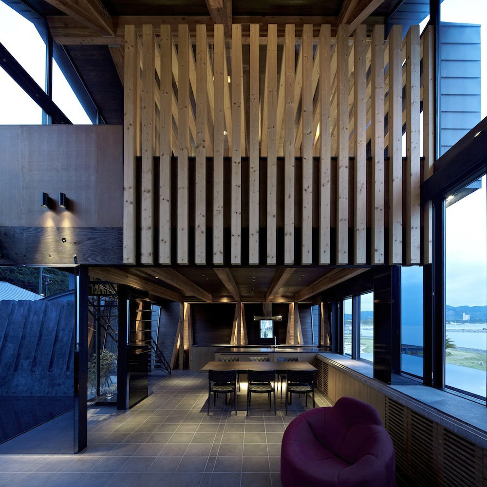 Kitchen, Dining, Villa SSK Overlooking Tokyo Bay in Chiba, Japan