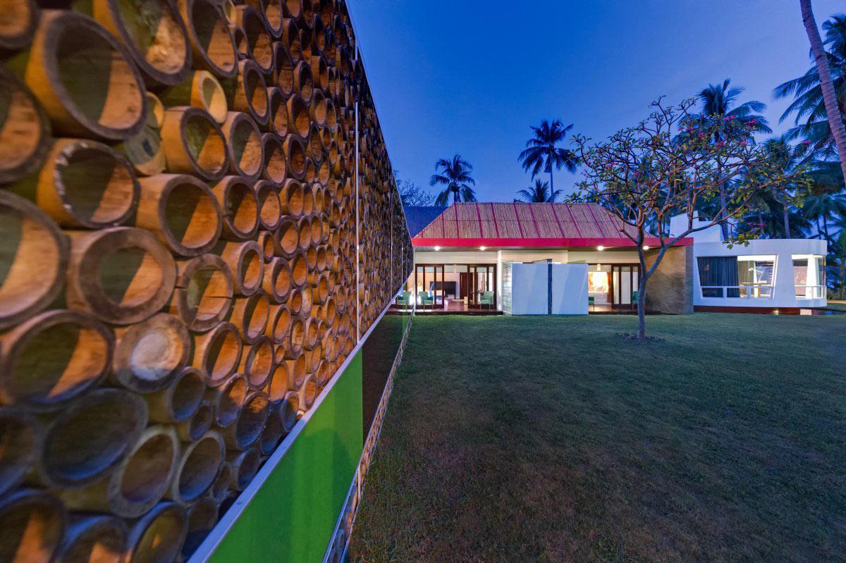Bamboo, Garden, Villa Sapi, Lombok Island, Indonesia