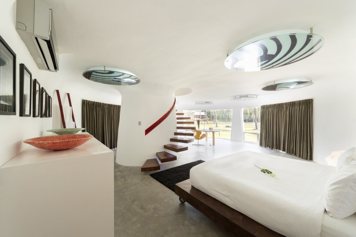 Bedroom, Stairs, Villa Sapi, Lombok Island, Indonesia