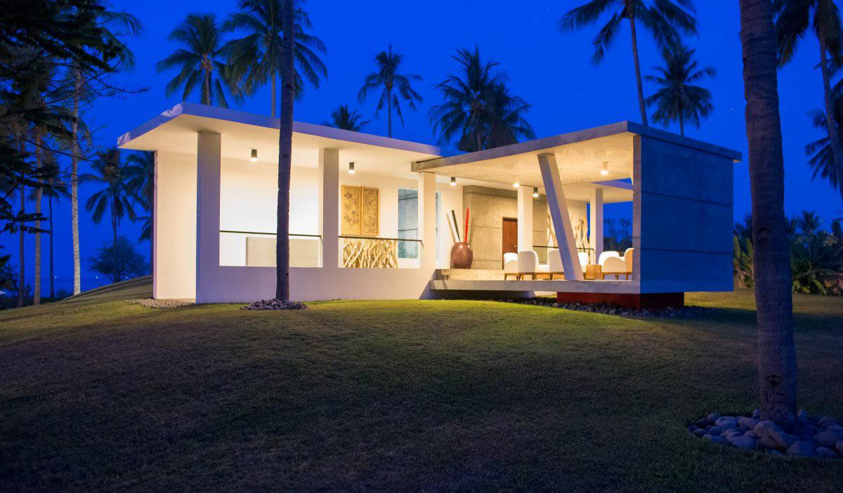 Open Plan, Villa Sapi, Lombok Island, Indonesia