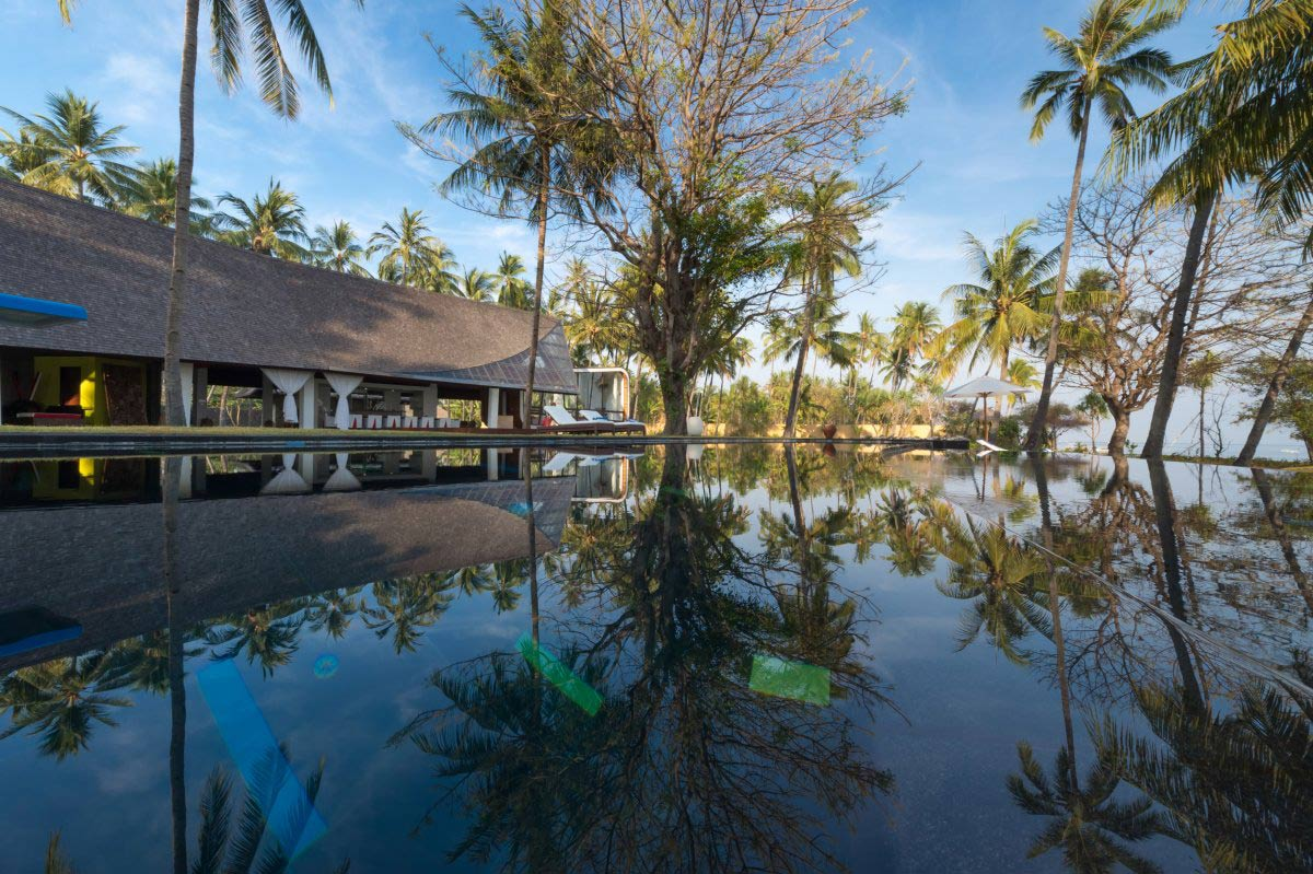 Outdoor Pool, Villa Sapi, Lombok Island, Indonesia