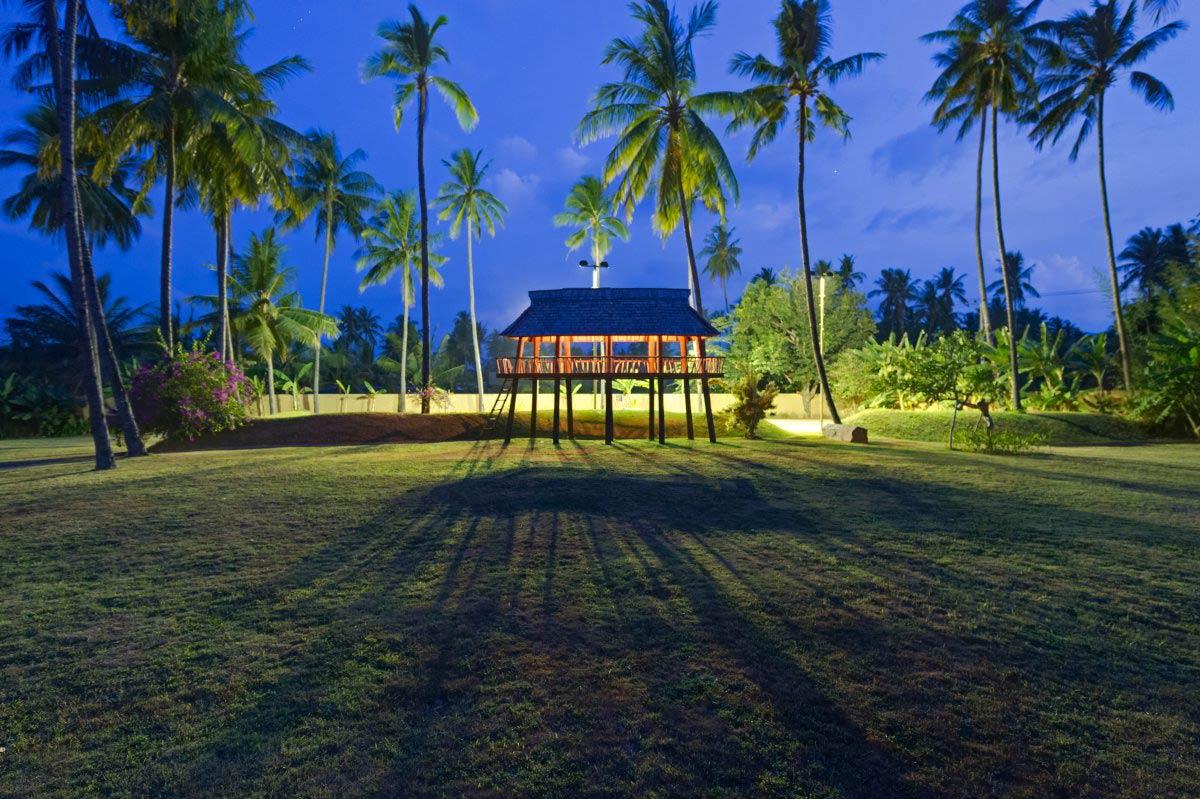 Pavilion, Villa Sapi, Lombok Island, Indonesia