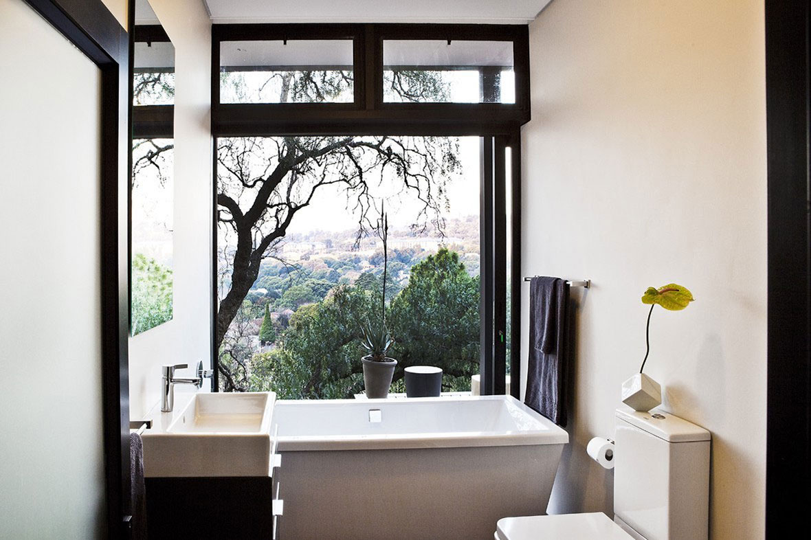 Bathroom, Compact Contemporary Home in Johannesburg, South Africa