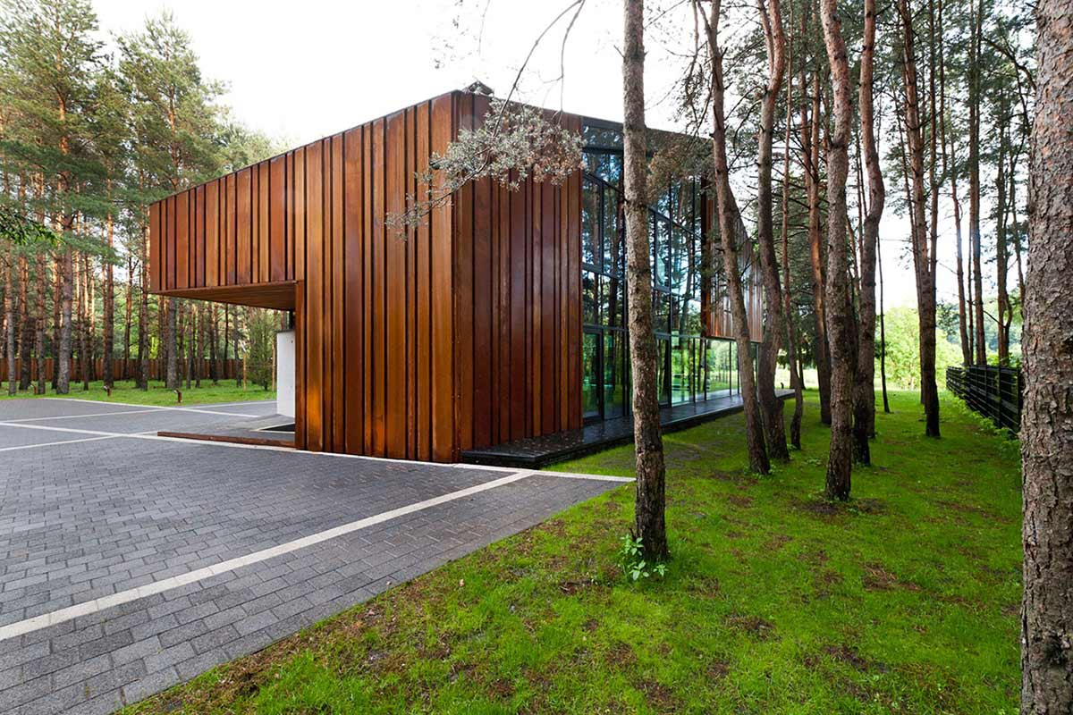 House in the Woods of Kaunas, Lithuania