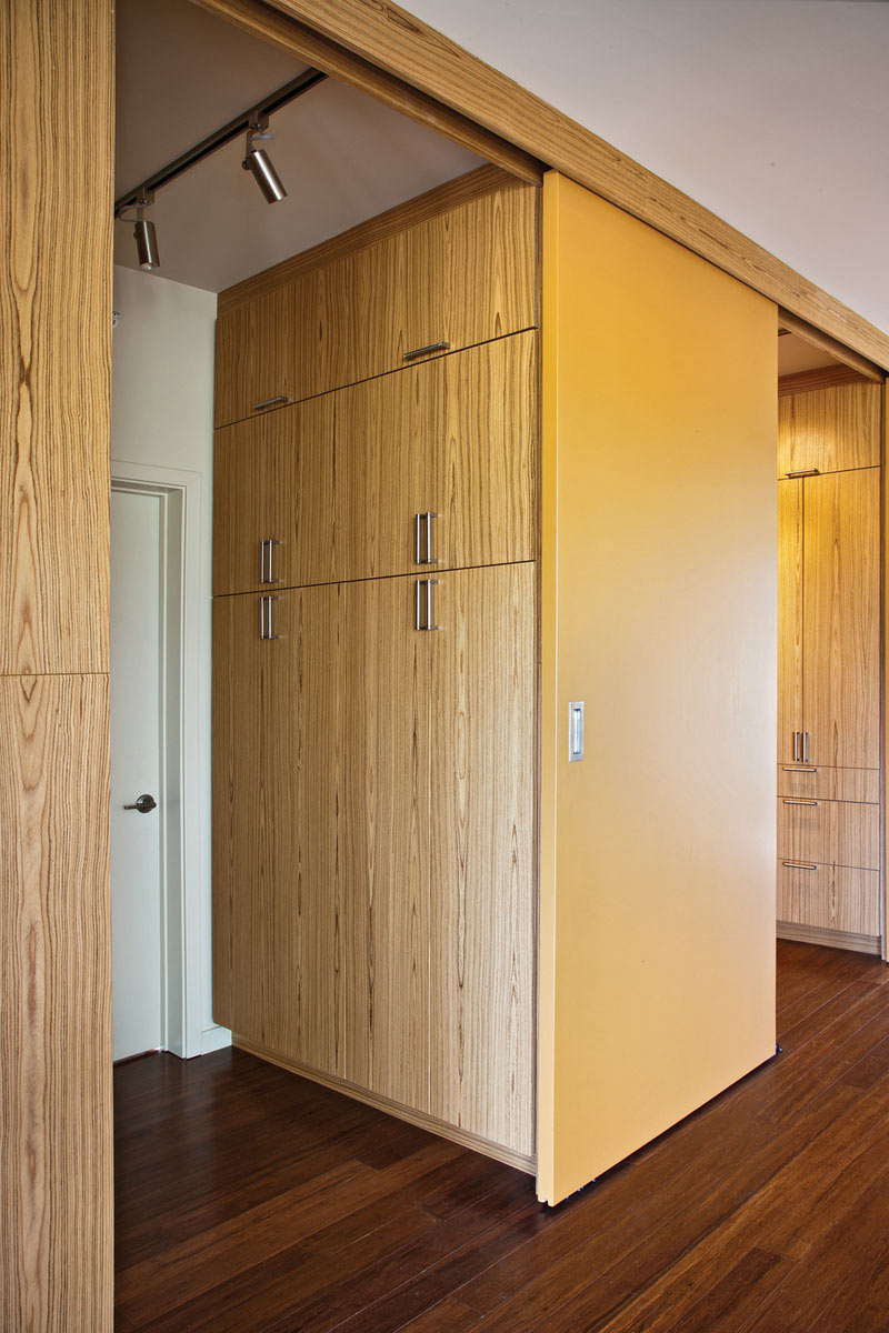 Cupboards, The Breezehouse in Healdsburg, California by Blu Homes
