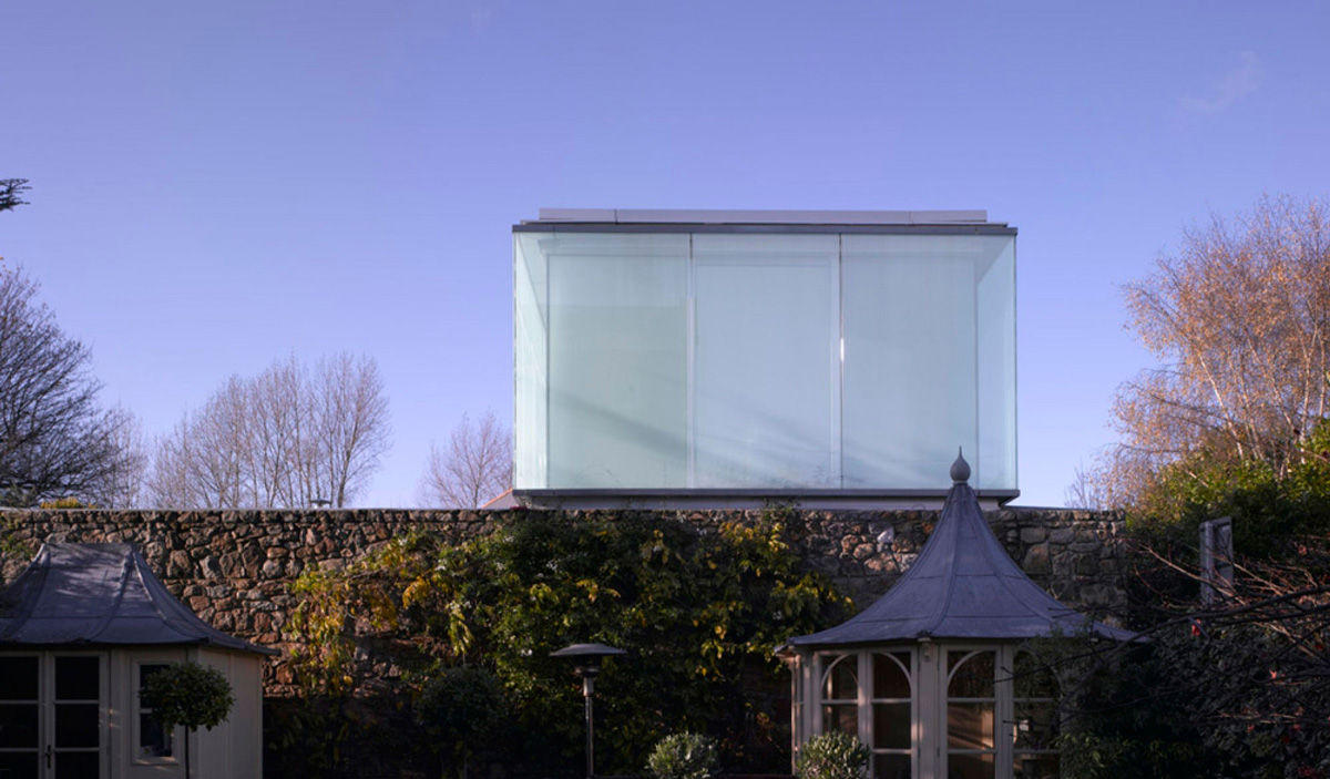 Burren House in Dublin, Ireland by Níall McLaughlin Architects