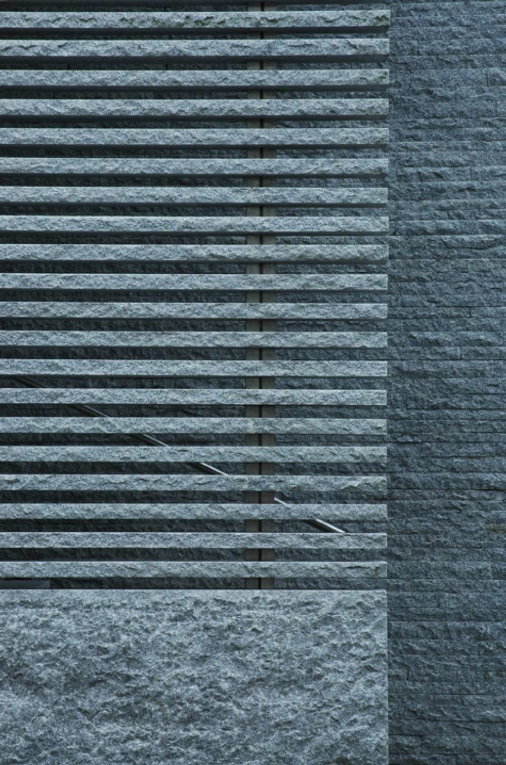 Granite Walls, Burren House in Dublin, Ireland by Níall McLaughlin Architects