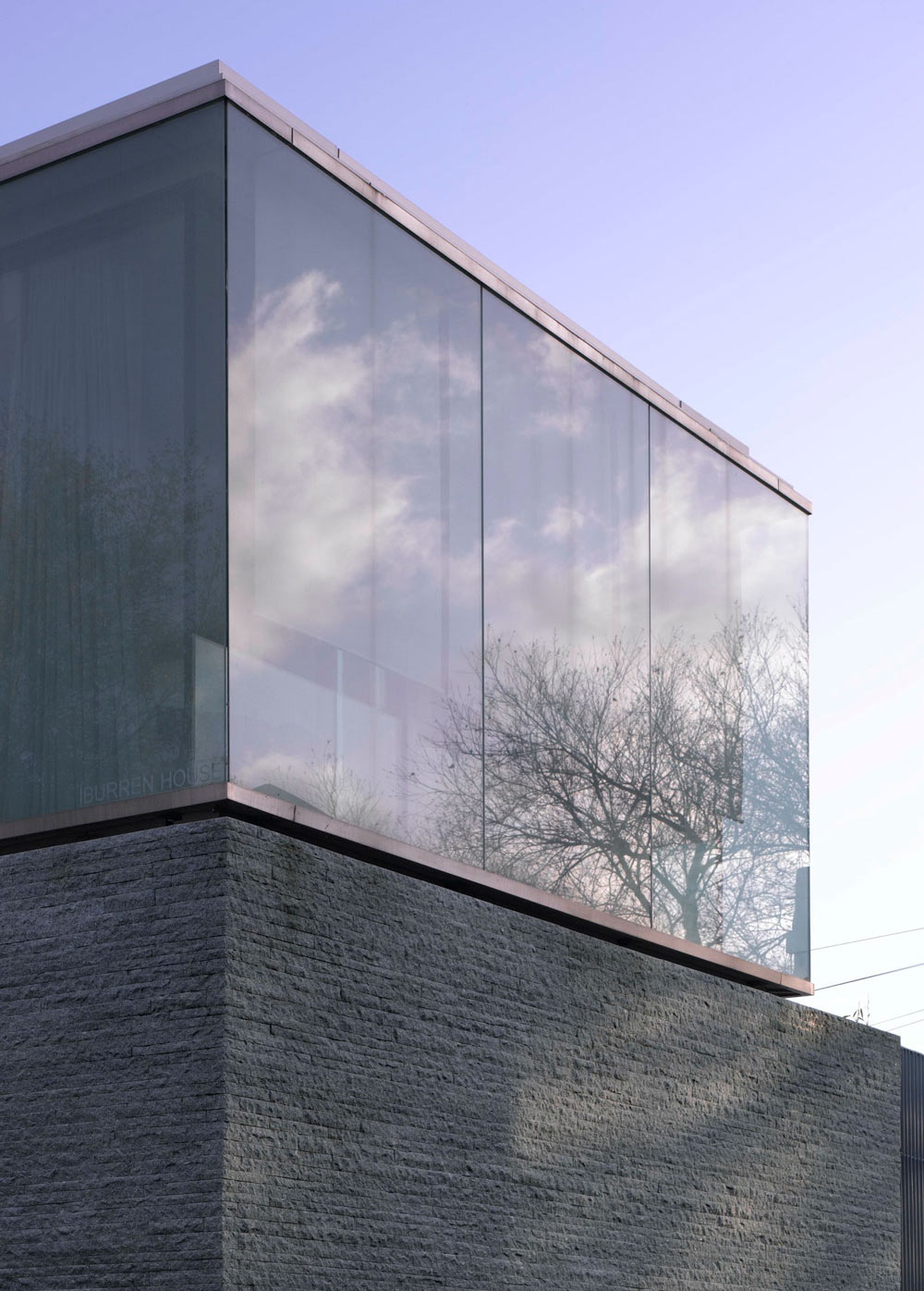 Hewn Granite Walls, Burren House in Dublin, Ireland by Níall McLaughlin Architects