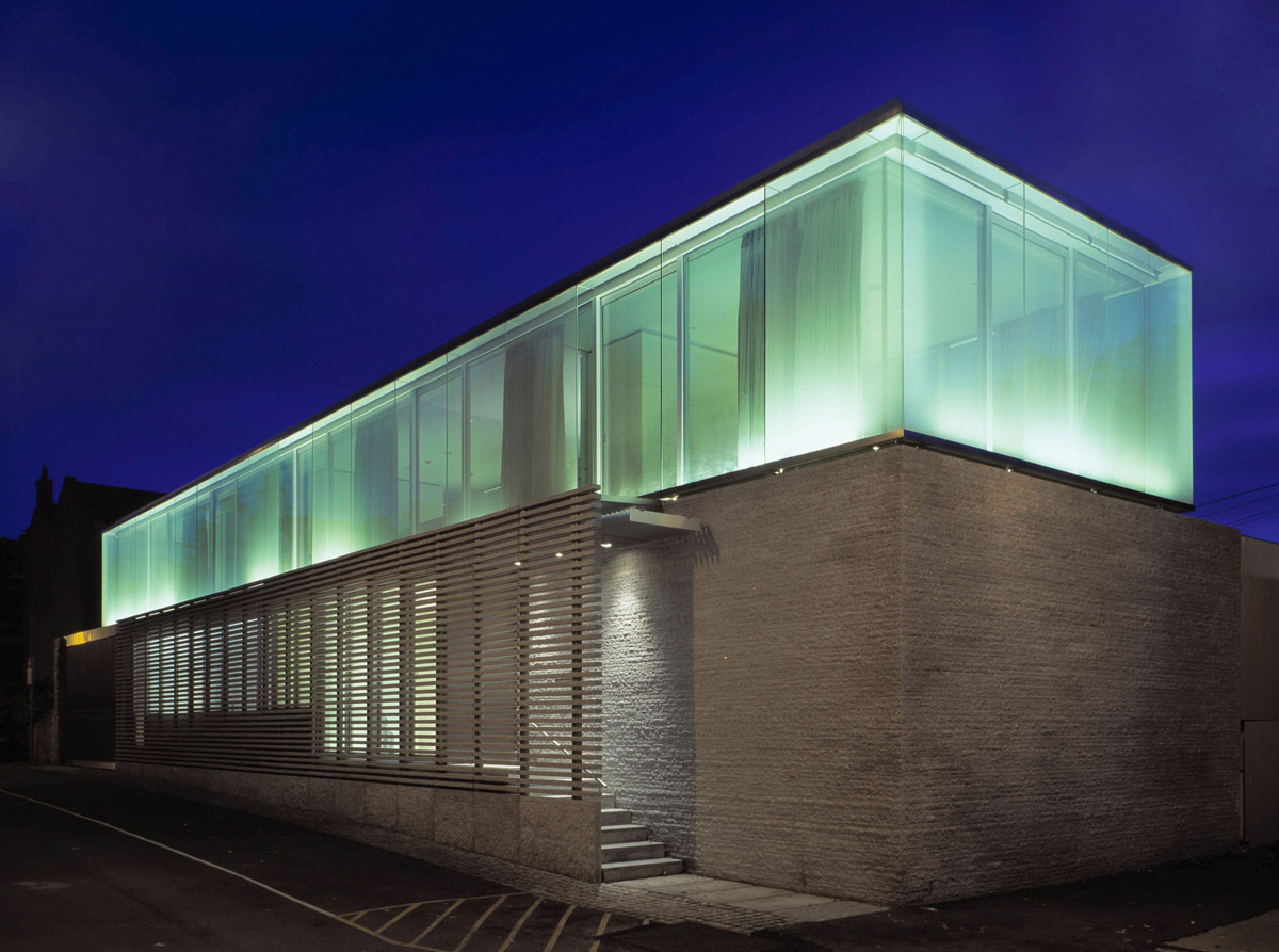 Lighting, Burren House in Dublin, Ireland by Níall McLaughlin Architects