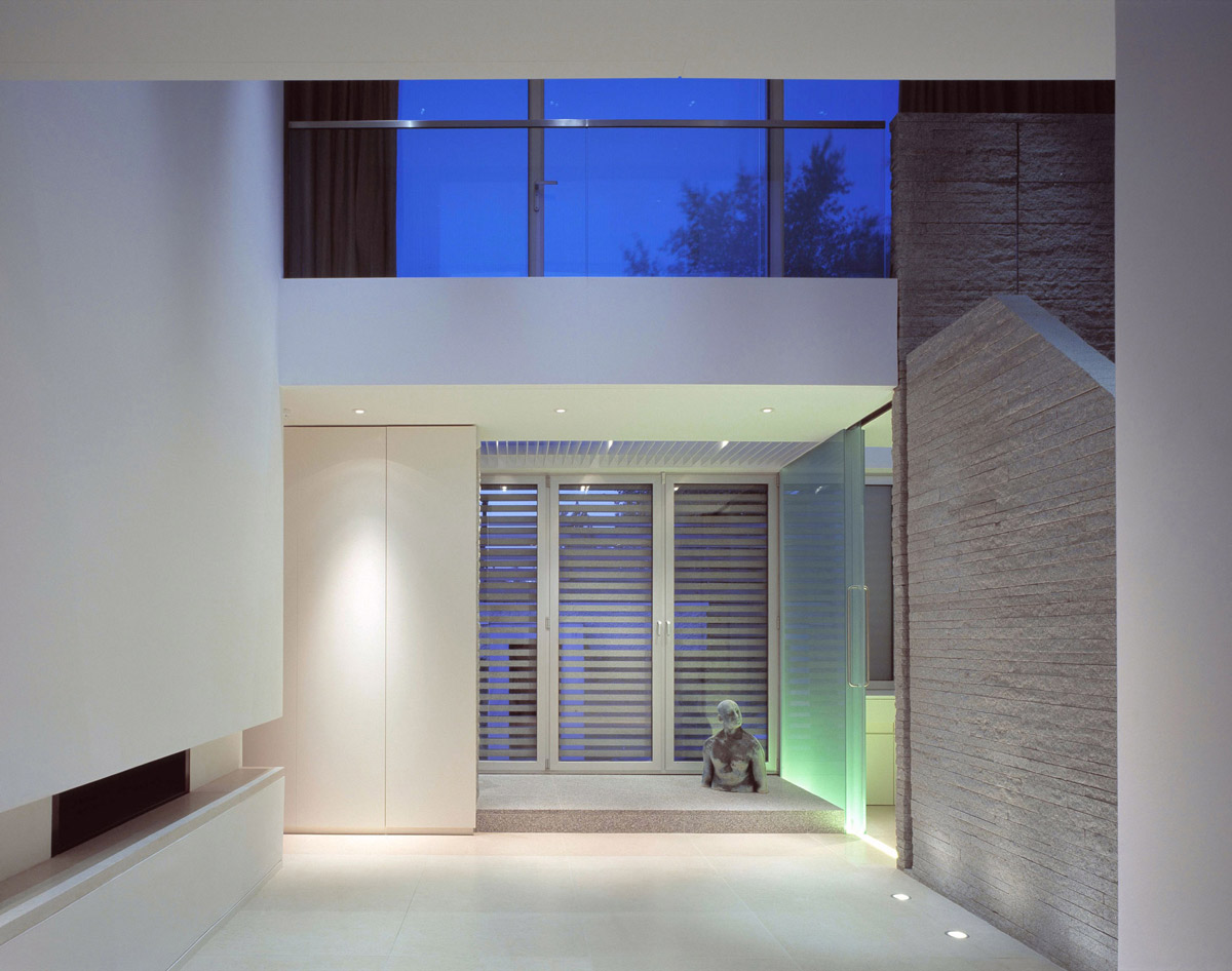 Patio Doors, Lighting, Burren House in Dublin, Ireland by Níall McLaughlin Architects