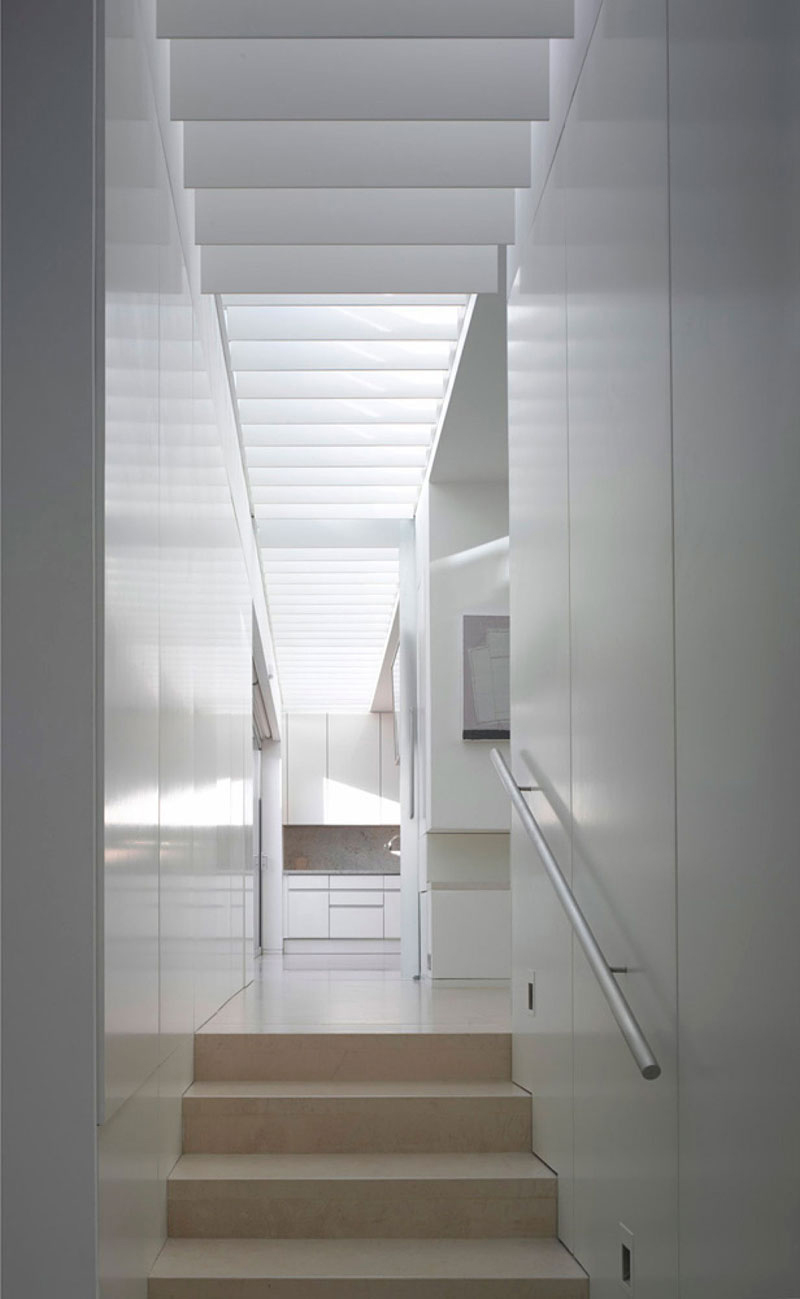 Stairs, Burren House in Dublin, Ireland by Níall McLaughlin Architects