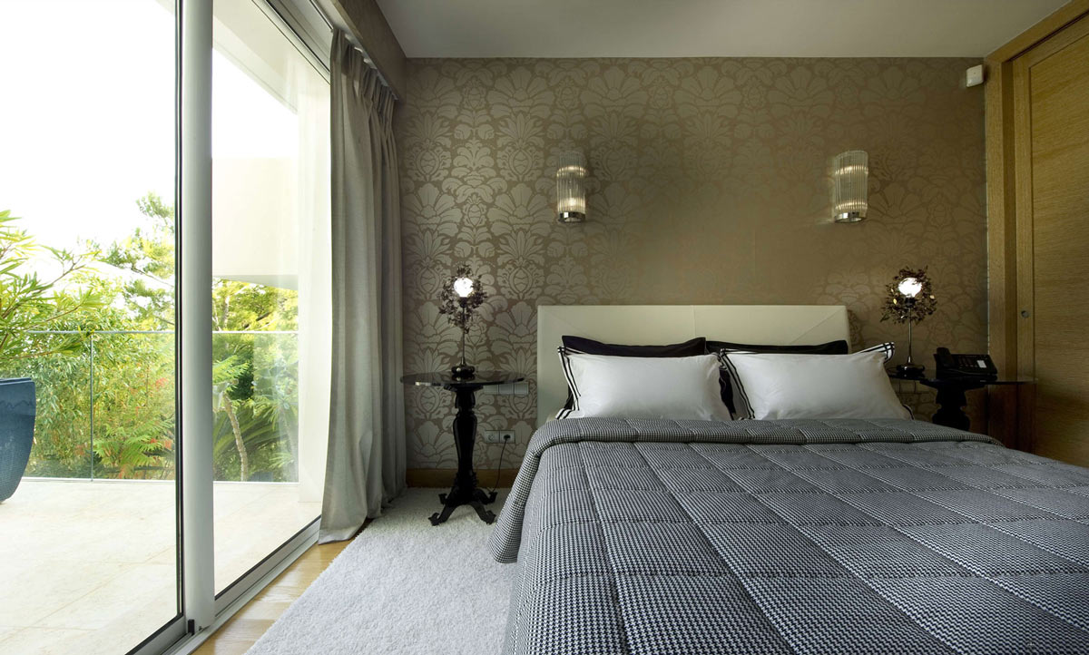 Bedroom, Balcony, Villa on the Cap Ferrat, Côte d'Azur, France