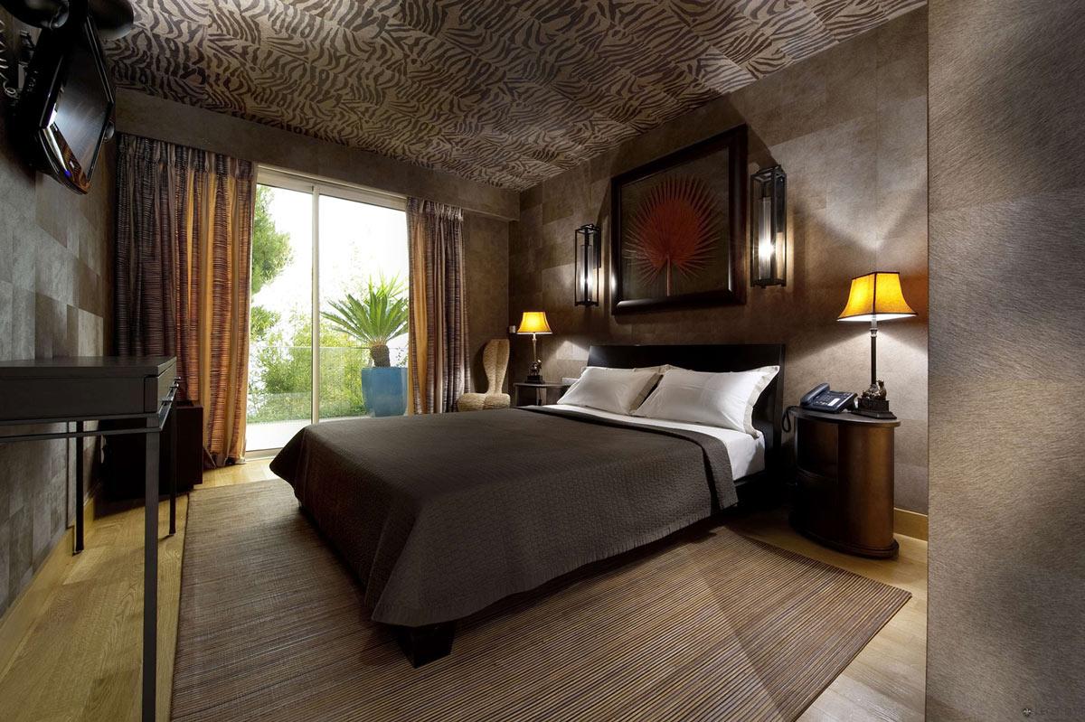 Bedroom Style, Villa on the Cap Ferrat, Côte d'Azur, France